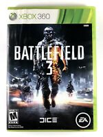 *FREE SHIPPING* Battlefield 3 (Microsoft Xbox 360) Ea Dice FPS Shooter Game