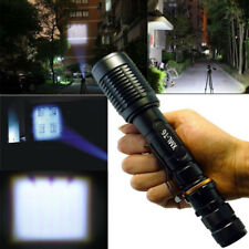 15000LM Rechargeable LED Flashlight CREE XML T6 5 Modes 18650 Zoom Focus Torch r
