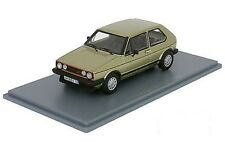 VW VOLKSWAGEN GOLF 1 GTI 1983 RABBIT GOLD NEO 45559 1/43 LEFT HAND DRIVE LHD