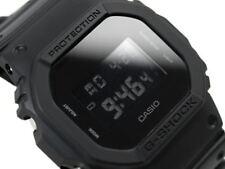 CASIO G-Shock DW5600BB-1A All Matt Black Monotone Reverse LCD Very Limited @