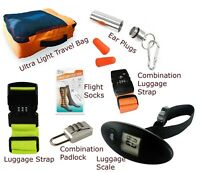 Travel Accessories Padlocks Cushions Bags Combination Locks Luggage Strap Scale