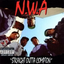NWA Straight Out Of Compton (EXPLICIT) CD