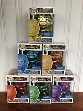 Funko Pop Chrome Thanos Walmart Set 289 Marvel Avengers Infinity War