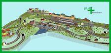 Piko H0 A-Gleis Gleisplan A27 für Anlagenplanung, HO, Set 5 x 3,6 m