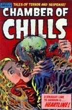 CHAMBER OF CHILLS #1-26 FULL RUN ON DVD GOLDEN AGE PRE CODE HORROR COMICS HARVEY