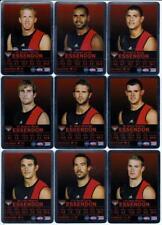 2009 AFL Teamcoach Silver Cards -  Essendon (10)