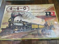 """RIVAROSSI échelle o coffret de kit à monter """"GENOA"""" locomotive 220 et son tender"""