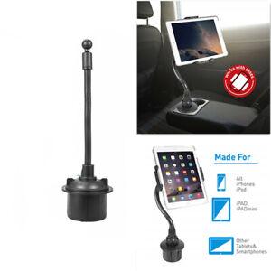 Cup Car Phone Holder,360 Degree Adjustable Cell Phone Holder For 7.9-12''Tablet