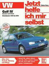 VW GOLF 4 1998-04 Reparaturanleitung Jetzt helfe ich mir selbst Handbuch/Wartung