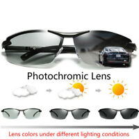 ZYC Men's Photochromic Sunglasses with Polarized Lens 100% UV For Outdoor