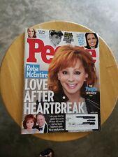 People Magazine Reba McEntire, LOVE AFTER HEARTBREAK April 15, 2019