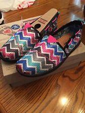 "New Girl's/Childs Skechers  Lil Bobs Bob's ""Sweetkicks"" Shoes/Flats 85069L"