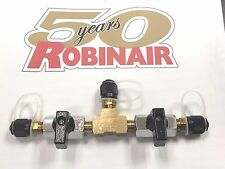 Robinair Isolation Valve Vacuum Pumpcharging Cylinder R12r22 14 Male Flare