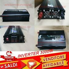 Power Inverter 3000W DC 12V Convertitore AC 220V 3000 Watt