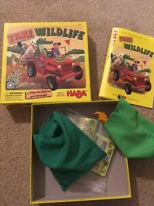 Taxi Wildlife Kids Game - Ages 5+ - HABA
