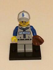Series 10 Lego Mini Figure – Baseball Fielder