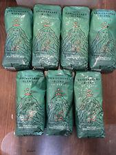 7 bags Starbucks 50 Year Anniversary Blend Dark Roast Whole Bean Coffee 2021