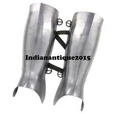 Medieval Armour Ancient Greek Hoplite Greaves  16g Functional Leg Guard