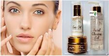 24K Anti-Wrinkle Treatment Cream Tratamiento De Colageno Collagen Serum Oil Kit