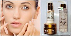 24K Anti-Wrinkle Treatment Cream Tratamiento De Colageno Collagen Serum Oil Kit