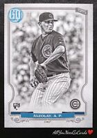 Adbert Alzolay 2020 Topps Gypsy Queen Black-White /50 Chicago Cubs Rookie RC #34