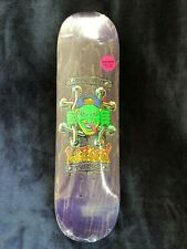 Deathwish skateboards Lucero tribute deck - Lizard King - New, Rare!