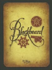 Walt Disney World Pirates Adventure Treasures of the Seven Seas Card Blackbeard