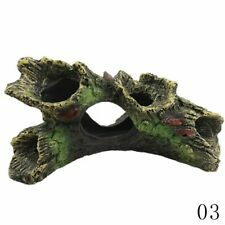 1 Piece Rockery Stone Fish Tank Landscaping Aquarium Decoration Hiding Cave Tree