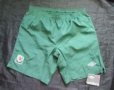 WALES away shorts UMBRO 20012/2013 The Dragons Cymru NEW TAGS adult SIZE XL