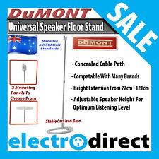 """Pair of Universal Speaker Floor Stand Adjustable Height 28- 47"""" Bose Kenwood JBL"""