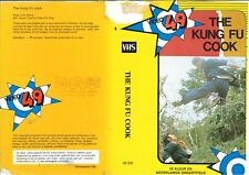 DUTCH VIDEO SLEEVE - VIDEO 49 LABEL - THE KUNG FU COOK