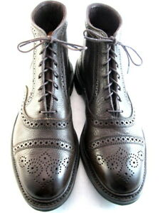 "NEW Allen Edmonds  ""HAMILTON CAP-TOE"" WEATHERPROOF Boots 10 B Brown Tumbled(689)"