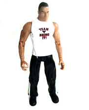 "WWF WWE TNA Wrestling ClassicsDWAYNE JOHNSON THE ROCK w/shirt 6"" toy figure RARE"
