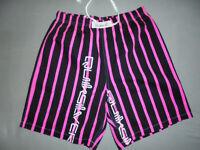 vintage australia QUIKSILVER shorts 70s boardshorts pink neon 80er Jahre Gr.M
