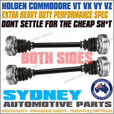 PAIR HEAVY DUTY Holden Commodore VT VX VY VZ V8 5.0L 5.7L REAR CV Shaft LH + RH