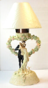 Wedding Bliss series: 8094 Flame of Love Candle Lamp