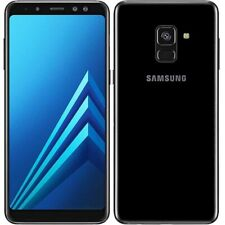 Samsung Galaxy A8 2018 4G Unlocked 32GB Black A+ UK 🇬🇧- Next Day UK Delivery