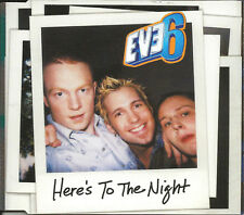 EVE 6 Here's to the Night w/ UNRLEASED TLC WATERFALLS Remake CD single SEALED