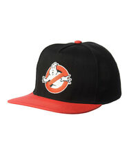 GHOSTBUSTERS No Ghost Snapback Adjustable Baseball Hat/Cap W/ Embroidered Logo