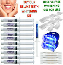 44% Peroxide Teeth Whitening Tooth Bleaching Whitener Kit Oral Gel System
