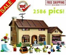 Building Blocks Movie Series Set The Simpsons House Bricks Model Kids Toys 16005