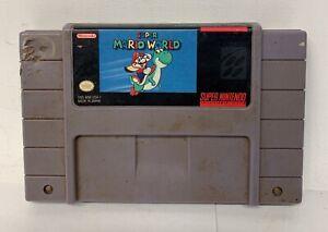 Super Mario World for the Super Nintendo Entertainment System