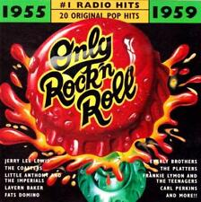 ONLY ROCK N ROLL 1955-1959 CD: Jerry Lee Lewis*Everly Brothers*Carl Perkins
