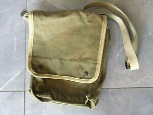 Vintage Mens Canvas Messenger Shoulder Bag owned by the Avi Rothschild