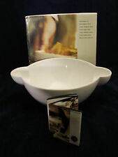 Sagaform Tapas Series Medium Bowl, White Made in Sweden