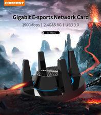 Comfast 1900 Мбит/с питание беспроводной USB-адаптер 2.4/5.8GHz WiFi сеть A/B/G/N/Ac