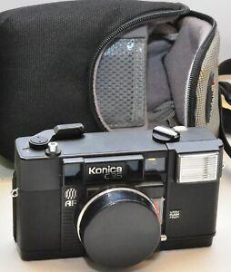 """Konica C35, prime lens, Point & Shoot; guter Zustand, """"Lomografie"""""""