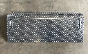 KENWORTH W900A 45 Inch Battery Tool Box Aluminum Cover Lid