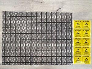 ★3-10x Anti-Statik ESD Verpackungs-Beutel 30x40cm Mainboard SSD PC + Aufkleber★