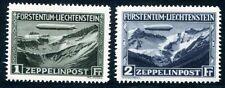 LIECHTENSTEIN 1931 114-115 ** POSTFRISCH ZEPPELIN 650€(Z1014